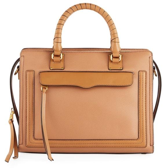 Rebecca Minkoff Handbags - Rebecca Minkoff Bree Top Zip Satchel Medium